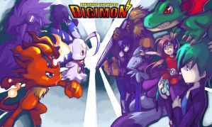 Digimon : Breaking The Walls by Riza23
