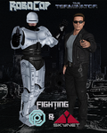 Fighting OCP And Skynet by Leon5cottKennedy