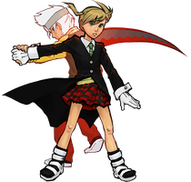 strike a pose Maka by Doodle-Master