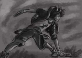 Sketch request- Nighke by LutherTaylor