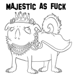 Majestic As Fuck by zaminaku