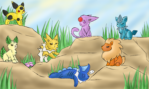 Pre-Eeveelutions Contest Entry by ArizonaJackal