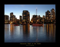 Vancouver Night on the Water by Exploitationality