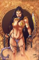 dejah thoris by diabolumberto