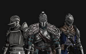 Dark Souls / Demon's Souls: Knights by MenasLG