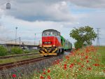 478 332 with weed-killer train near Gyor by morpheus880223