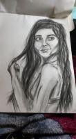 Charcoal Girl by SkullyLuv