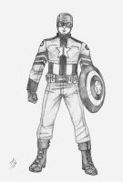 Captain America by theInhuman