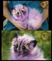 SOLD Cotton Candy Kitten by Wood-Splitter-Lee