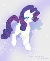 My Little Pony: Rarity by Alex-Goncalves