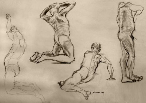 Life Drawing 7 by nictey