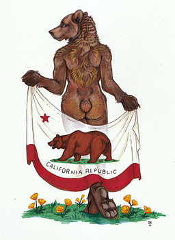 Ursus californicus by thornwolf