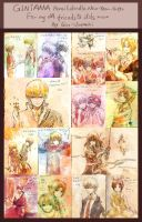 GINTAMA-PENCIL DOODLE NEW YR GIFTS!! by Gin-Uzumaki