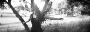 lomokino test: photoshoot in nature by farbanomalie