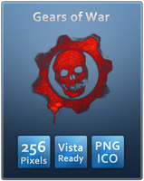 Gears of War Skull - No text by Th3-ProphetMan