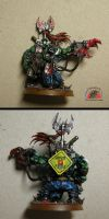 Quick paint: another ork warboss by Snowfyre