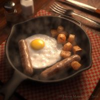 Skillet Breakfast by goldomega
