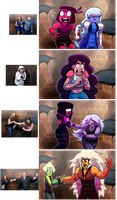 Steven Universe: Haunted House Reaction meme by prpldragonart