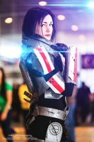Mass Effect: Commander Shepard Cosplay by XenPhotos