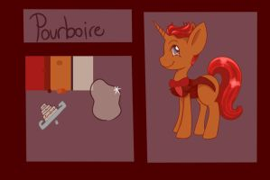Ref Sheet for Pourboire by Mdragonflame