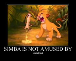 simba and timon motivational by alucardserasfangirl