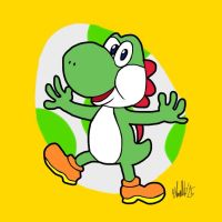 Yoshi by TheIransonic