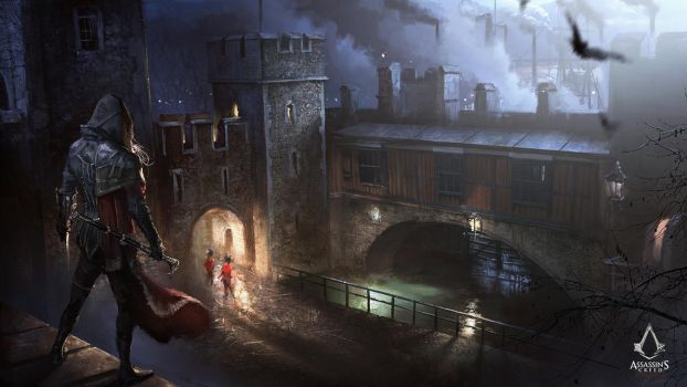 Assassin's Creed: Syndicate Evie and Traitor's Gat by daRoz