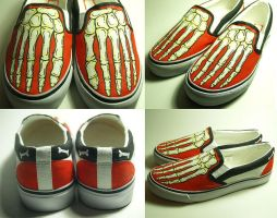 Skeleton Shoes 2nd Edition 2 by damndirtyangel