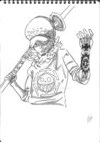 Trafalgar Law by KaiMomochi