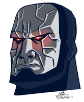 Darkseid warmup by ConstantM0tion