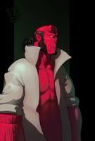 Hellboy by Jahary