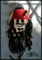 WIP: Jack Sparrow puppet by SBarbossa