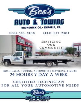 boo's auto logo promo flyer by ComplexMediaSolution