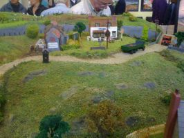 An OO-gauge country village by YanamationPictures