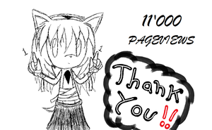 Thanks for 11'000 Pageviews by 2006101260