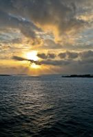 Bahamas sunrise 2 by DostorJ