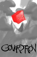 Red Cube Gonardtron by Gonardtron2