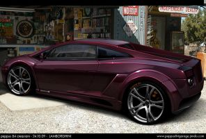 VIRTUAL TUNING lamborghini by peppus84