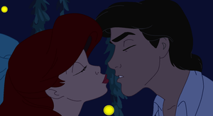 The little mermaid - Kiss by ComplainingBastard