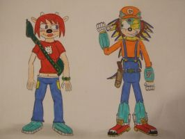 Detonator and Lammy from Um Jammer Lammy by spyaroundhere35