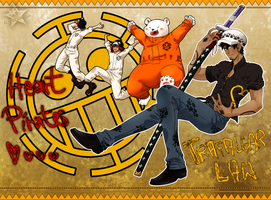 Trafalgar Law Week 2. Heart Pirates by ElyonBlackStar