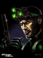 SPLINTER CELL: Sam Fisher by ReptileCynrik