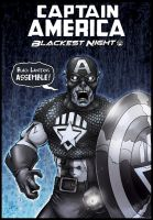 Black Lantern Captain America by oICEMANo