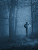 premade background secret grave by H-stock