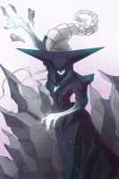 Lissandra, the Ice Witch by BrotherBaston