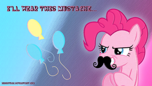 Pinkie Pie - I'll Wear This Mustache... by brightrai