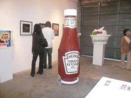 Ketchup Bottle by Samie-GOREgeous
