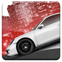 Need for Speed: Most Wanted HQ DOCK ICON PNG by Djblackpearl