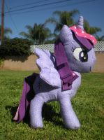 Alicorn Twilight Sparkle, view 2 by joitheartist