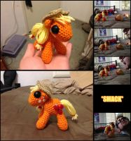 Applejack Amigurumi by Ignition4596